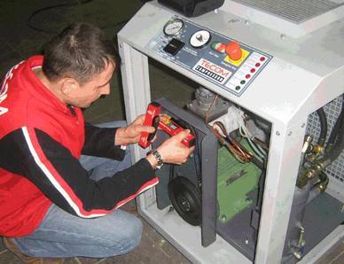 Сервисное обслуживание компрессоров